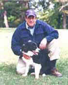 Jon Katz and Devon from A Dog Year