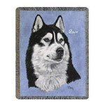 Click the link to order Siberian Husky Afghan